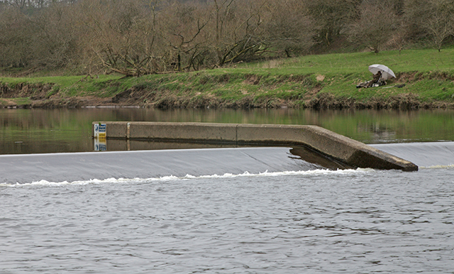 Weir on the River Ribble