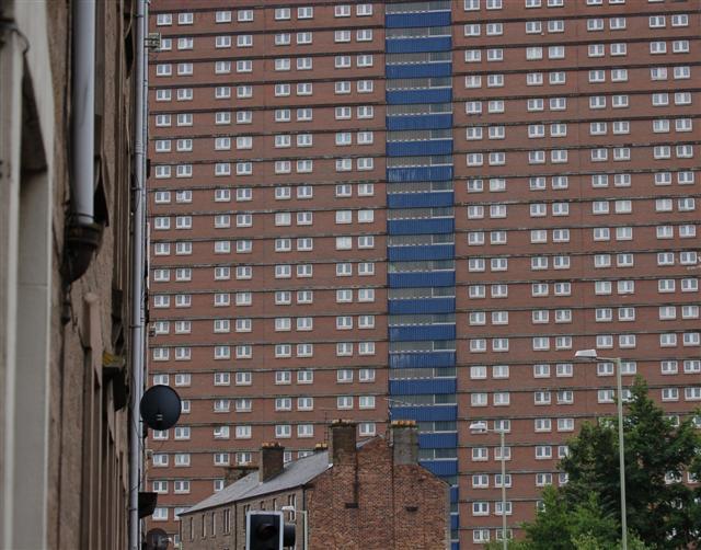 Multi storey flats