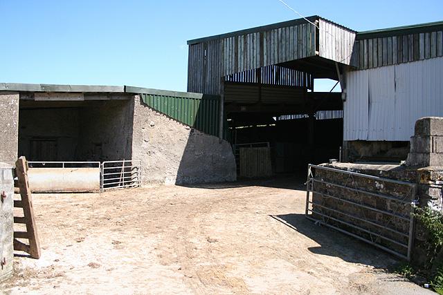 Tawstock: barns at Uppacott