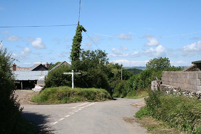 Tawstock: Uppacott Cross
