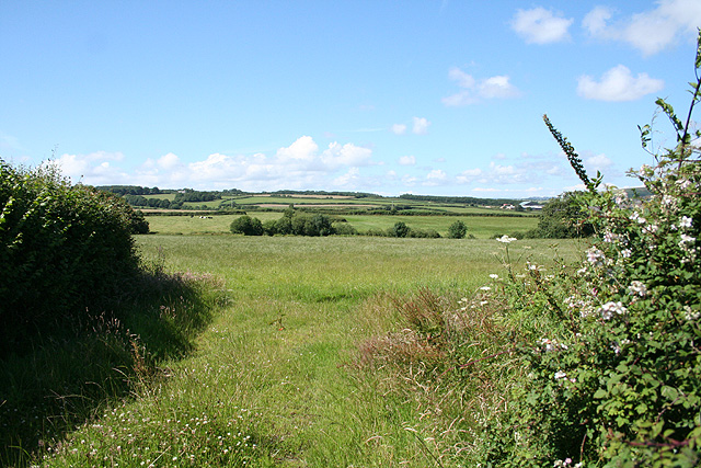 Tawstock: by a lane to Harracott Cross