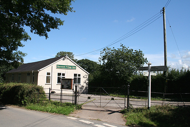 Tawstock: Harracott village hall