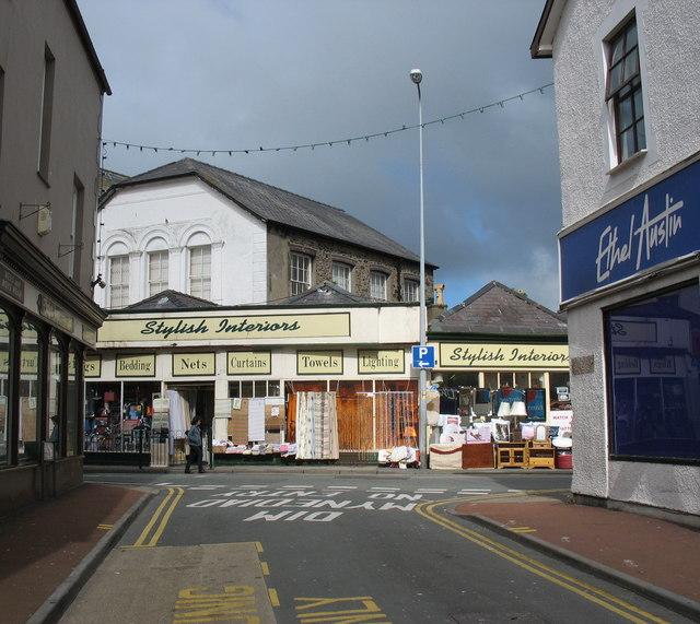 Bridge Street from Penllyn Bach