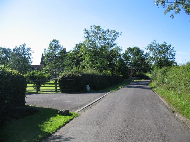 Approaching Homestead Farm