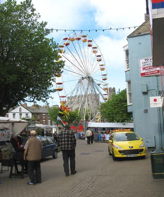 The Big Wheel from Stryd Llyn