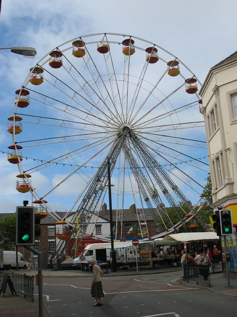 The Big Wheel from Pont Bridd (Bridge Street)