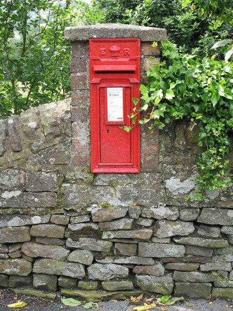 Edward VII postbox, Station Road, Allendale