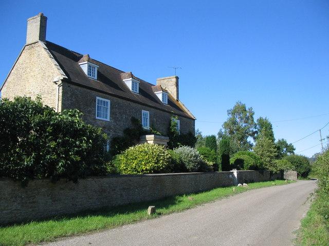 The farmhouse at Rectory Farm