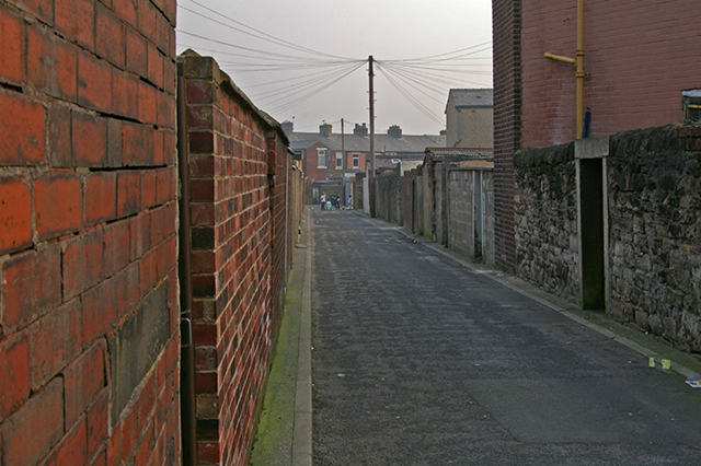 Alley off St James Road