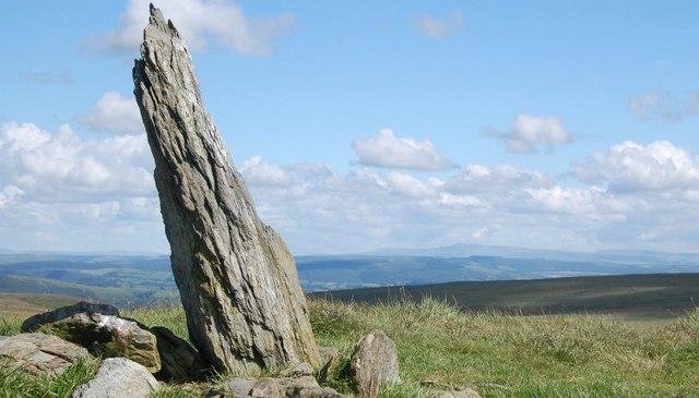 Mynydd Mallaen Standing Stone