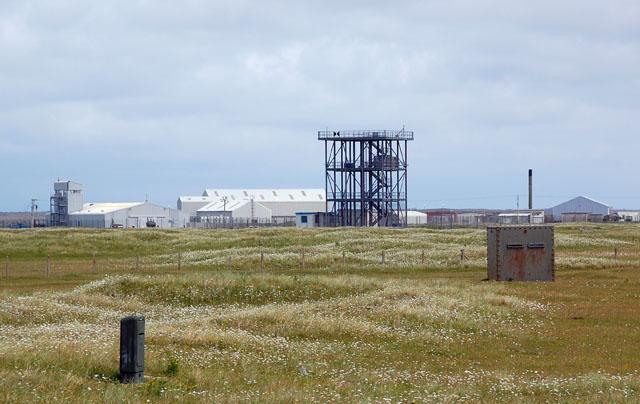 3 storey tower on missile range
