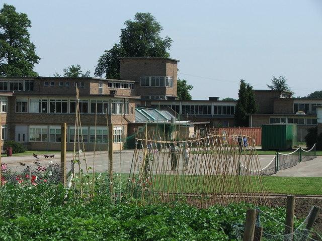 Cottingham High School grounds