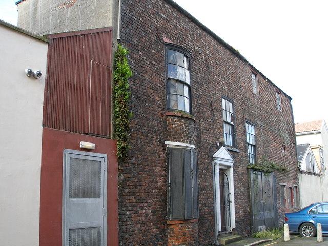 Semi derelict Georgian house