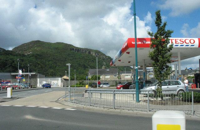 Tesco Service Station, Porthmadog