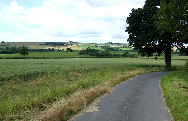 The Road to Corve Barn, Shropshire