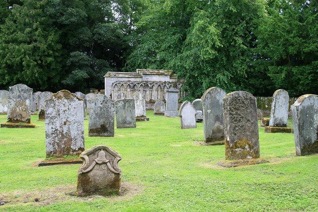Longformacus church graveyard