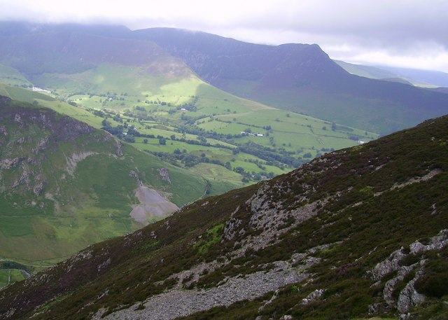 Above Near Broad Gill