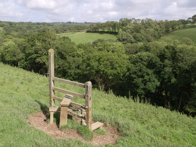 Redundant stile near Quoditch