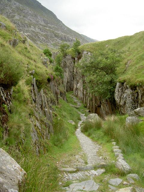 The path through the cut
