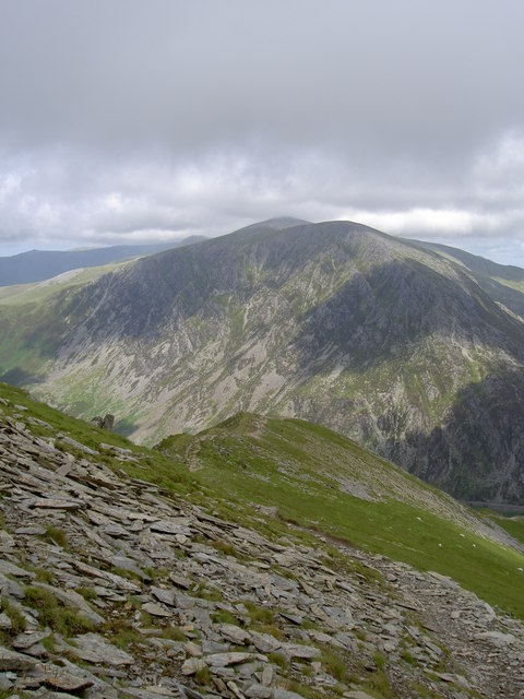 The ridge back to Pinnacle Crag