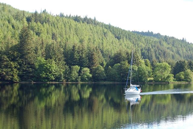 Morning on Loch Oich