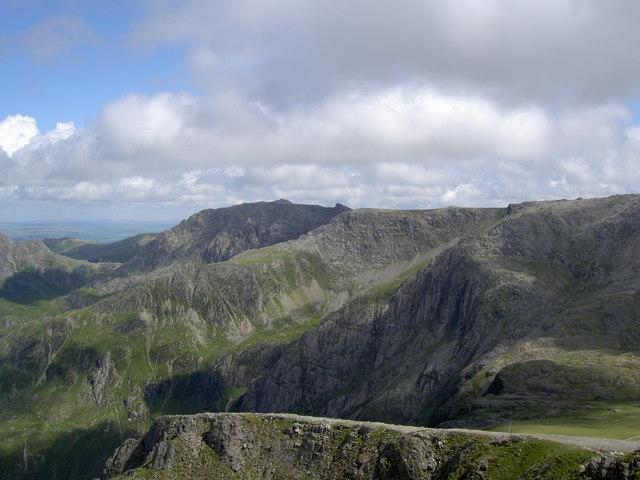 Castell y Geifr ridge