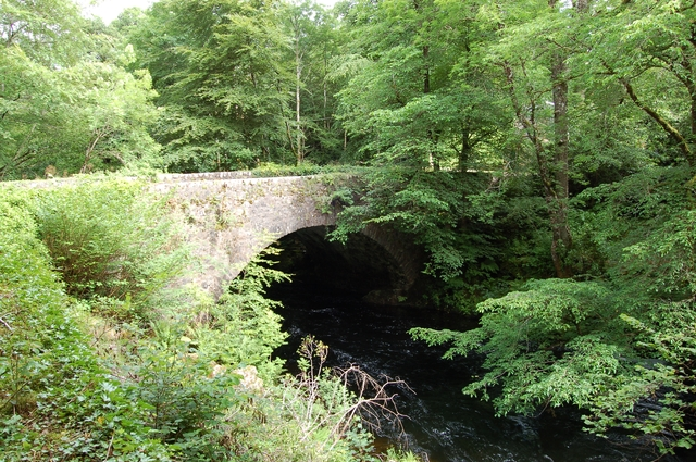 Old bridge at Invergarry