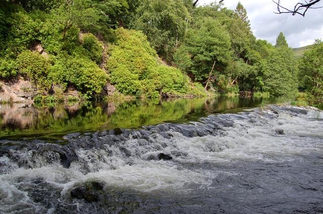 Weir on the River Garry