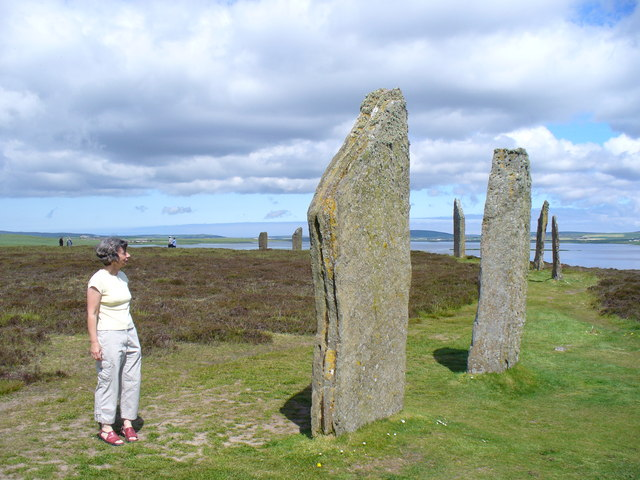 Standing Stones at the Ring of Brodgar