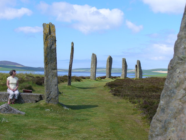 Ring of Brodgar and Loch of Stenness