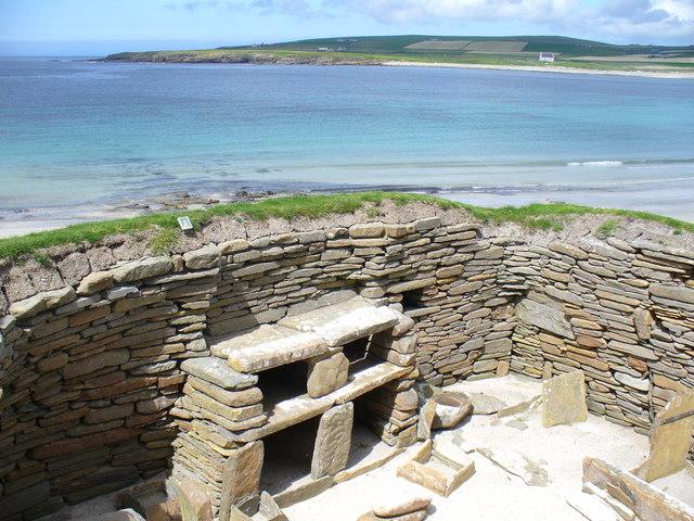 Neolithic Furniture at Skara Brae