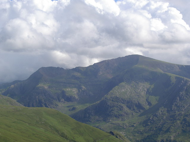 The Snowdon massif