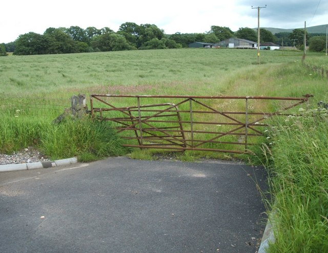 Old Access Gate to Mains of Balhaldie Farm