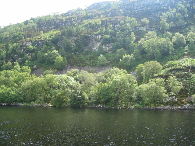 Southern shore of Loch Ness