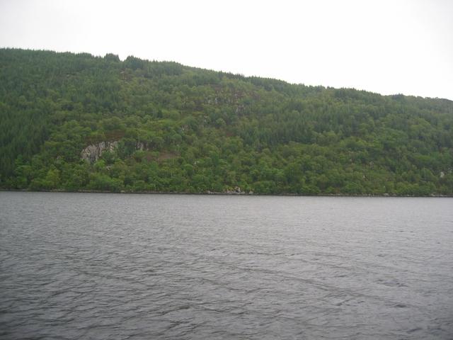Shoreline of Loch Ness