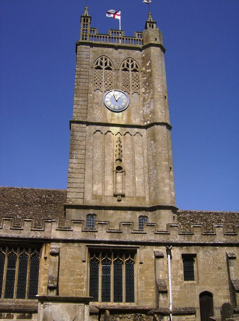 Tower of Holy Cross church, Sherston