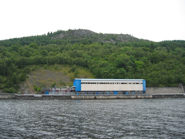 Foyers Hydro Electric power station