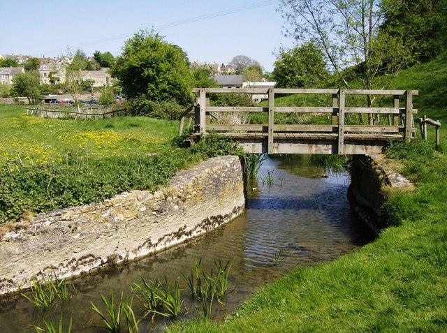 Footbridge over River Avon