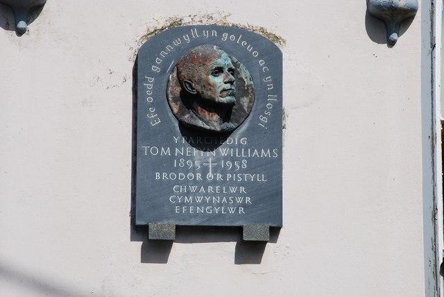 Cofeb Tom Nefyn Williams Capel Bethania Pistyll Tom Nefyn Williams Memorial
