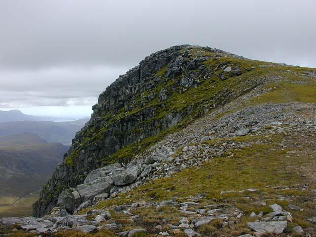 The summit of Meall nan Ceapraichean