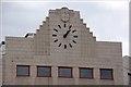 J3374 : Clock, Sinclair's, Belfast by Albert Bridge