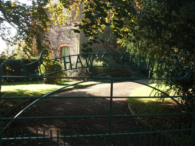 The Gate at Shaw's Corner, Ayot St. Lawrence.