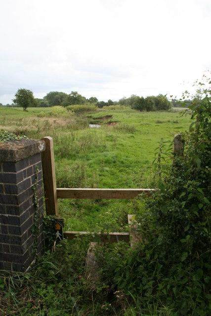Stile Near Emral Brook