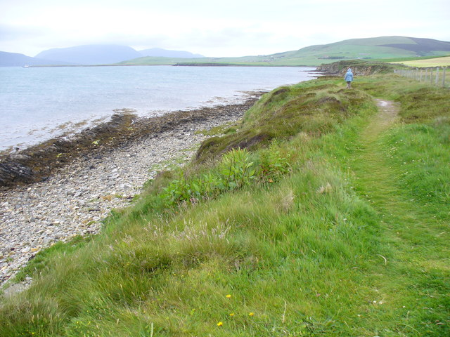 Coastal Walk East of Orphir