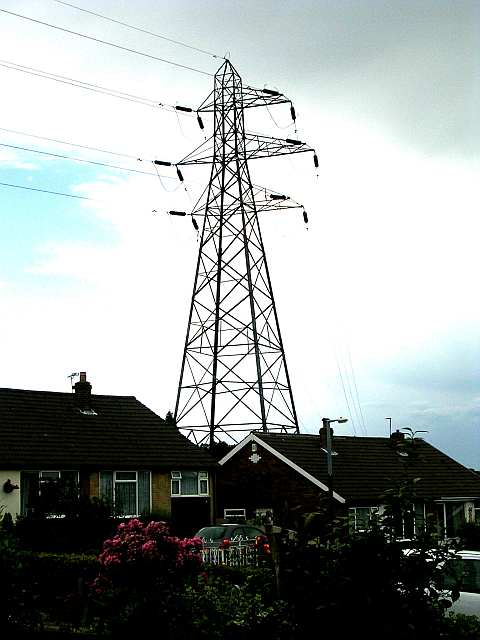 Electricity Pylon - Chatsworth Crescent