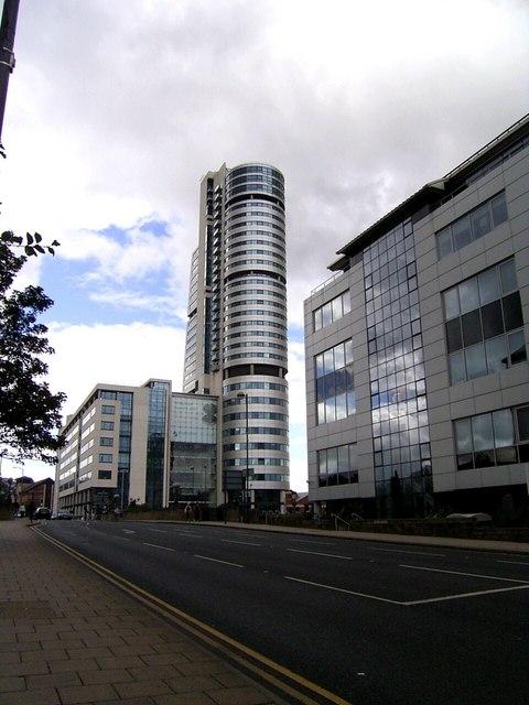 Bridgewater Place from Neville Street