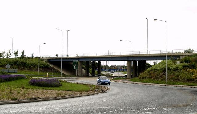 Garrison Road Flyover (A63)
