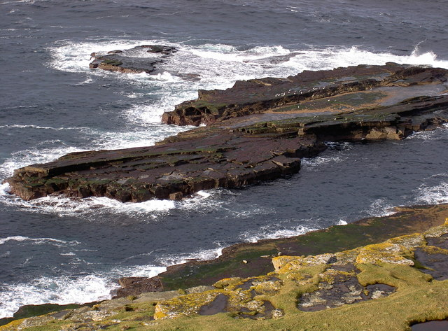 Rock off Noup Head