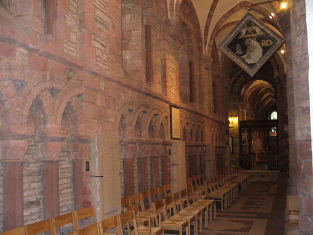North Aisle, St Magnus Cathedral, Kirkwall