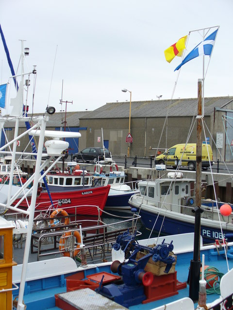 Fishing Boats in Kirkwall Harbour